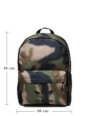 adidas Originals - Camo Classic Backpack - uutuudet - hemp/wilpin/black - 5