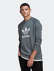 adidas Originals - Trefoil Warm-Up Crew Sweatshirt - basic sweatshirts - bluoxi - 0