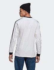 adidas Originals - Adicolor Classics 3-Stripes Long Sleeve T-Shirt - langermede topper - white - 3