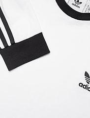 adidas Originals - Adicolor Classics 3-Stripes Long Sleeve T-Shirt - langermede topper - white - 4