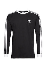 Adicolor Classics 3-Stripes Long Sleeve T-Shirt - BLACK