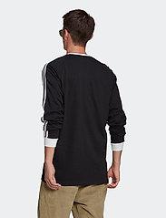 adidas Originals - Adicolor Classics 3-Stripes Long Sleeve T-Shirt - langermede topper - black - 3