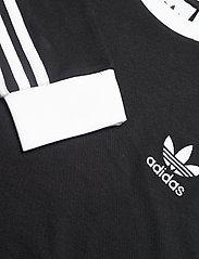 adidas Originals - Adicolor Classics 3-Stripes Long Sleeve T-Shirt - langermede topper - black - 4