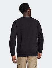adidas Originals - Adicolor 3D Trefoil 3-Stripes Crew Sweatshirt - basic sweatshirts - black - 3