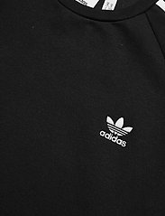 adidas Originals - Adicolor 3D Trefoil 3-Stripes Crew Sweatshirt - basic sweatshirts - black - 4