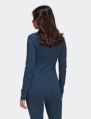 adidas Originals - Fakten Long Sleeve T-Shirt W - topjes met lange mouwen - crname/crenav/white - 4