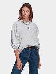 adidas Originals - Adicolor Essentials Sweatshirt W - sweatshirts - lgreyh - 0
