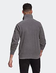 adidas Originals - Adicolor Essentials Polar Fleece Half-Zip Sweatshirt - basic sweatshirts - grefiv - 3