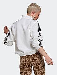 adidas Originals - Adicolor Classics Polar Fleece Half-Zip Sweatshirt W - fleece - white/black - 3