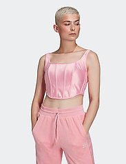 adidas Originals - Corset W - crop tops - ltpink - 0