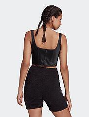 adidas Originals - Corset W - navel shirts - black - 3