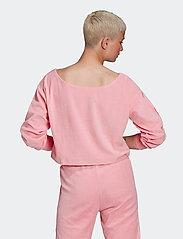 adidas Originals - Sweater W - sweatshirts - ltpink - 3