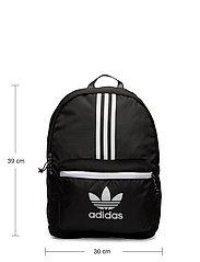 adidas Originals - Adicolor Classic Backpack - nyheter - black/white - 5