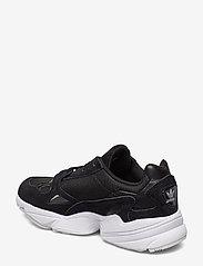 adidas Originals - FALCON W - chunky sneakers - cblack/cblack/ftwwht - 2