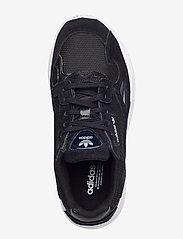 adidas Originals - FALCON W - chunky sneakers - cblack/cblack/ftwwht - 3