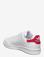 adidas Originals - STAN SMITH J - low tops - ftwwht/ftwwht/bopink - 2