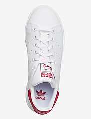 adidas Originals - STAN SMITH J - low tops - ftwwht/ftwwht/bopink - 3
