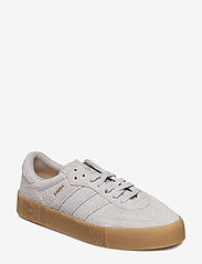 adidas Originals - SAMBAROSE W - low top sneakers - gretwo/gretwo/gum4 - 0