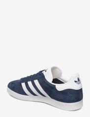 adidas Originals - Gazelle - lav ankel - conavy/white/goldmt - 2