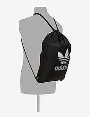 adidas Originals - Trefoil Gym Sack - sportsvesker - black - 4