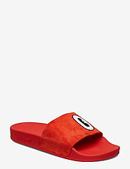 adidas Originals - ADILETTE W - sneakers - actred/ftwwht/cblack - 0