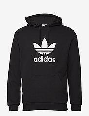 adidas Originals - TREFOIL HOODIE - hoodies - black - 1