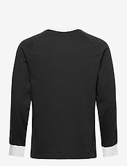 adidas Originals - 3-STRIPES LS T - langarmshirts - black - 2