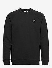 adidas Originals - ESSENTIAL CREW - overdeler - black - 1