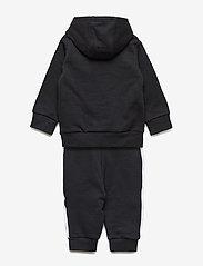 adidas Originals - TREFOIL HOODIE - trainingsanzug - black/white - 1