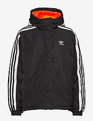 adidas Originals - SHORT SYN DOWN - kurtki sportowe - black - 1