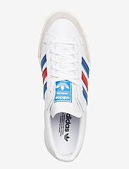 adidas Originals - Americana Low - lav ankel - ftwwht/croyal/scarle - 3