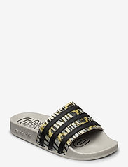 adidas Originals - ADILETTE W - sneakers - cblack/cblack/metgry - 0