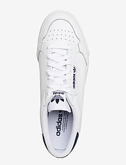 adidas Originals - CONTINENTAL VULC - lave sneakers - ftwwht/ftwwht/conavy - 3