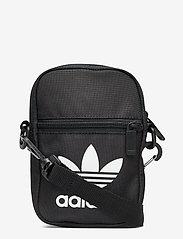 adidas Originals - Trefoil Festival Bag - crossbody bags - black - 0