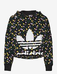 adidas Originals - AOP CROP HOODIE - crop topit - multco - 0