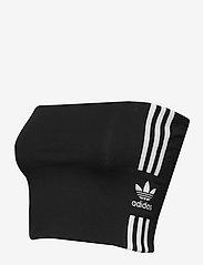 adidas Originals - TUBE TOP - crop-tops - black/white - 3