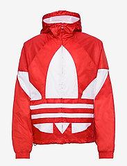 adidas Originals - BIG TREFOIL WB - athleisure jackets - lusred - 2
