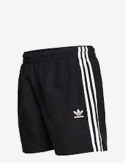 adidas Originals - 3 STRIPE SWIMS - badehosen - black - 3
