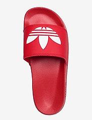 adidas Originals - Adilette Lite Slides - tennarit - scarle/ftwwht/scarle - 3