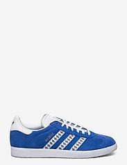 adidas Originals - GAZELLE - lav ankel - blue/ftwwht/goldmt - 1