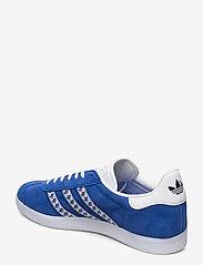 adidas Originals - GAZELLE - lav ankel - blue/ftwwht/goldmt - 2
