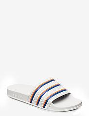 adidas Originals - ADILETTE - sneakers - ftwwht/blue/solred - 0