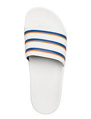adidas Originals - ADILETTE - sneakers - ftwwht/blue/solred - 3