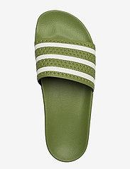 adidas Originals - ADILETTE - tennarit - forgrn/supcol/forgrn - 3