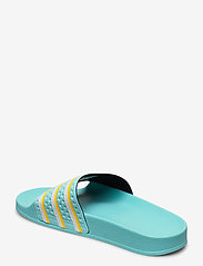 adidas Originals - ADILETTE - sneakers - bluzes/ftwwht/wonglo - 2