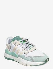 adidas Originals - NITE JOGGER W - chunky sneaker - ftwwht/alumin/alumin - 0