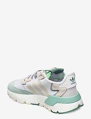 adidas Originals - NITE JOGGER W - chunky sneaker - ftwwht/alumin/alumin - 2