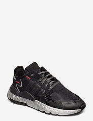 adidas Originals - NITE JOGGER W - chunky sneaker - cblack/shored/silvmt - 0
