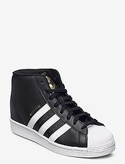 adidas Originals - Superstar Up W - hoge sneakers - cblack/ftwwht/goldmt - 0