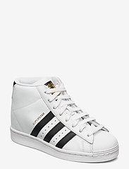 adidas Originals - Superstar Up W - hoge sneakers - ftwwht/cblack/goldmt - 0